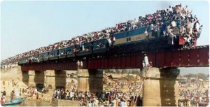 INDIAN 's ALL ABOARD TRAINS